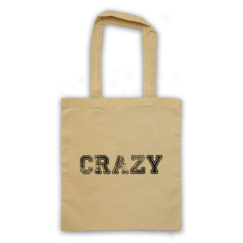 Funny Slogan Tote Bag Crazy natur
