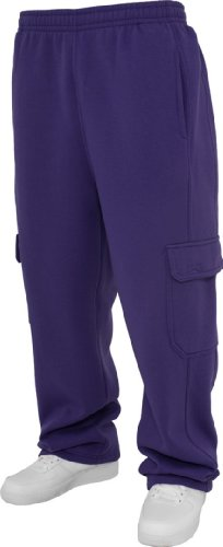 Urban Classics Uomo tb031Cargo Pantaloni Purple