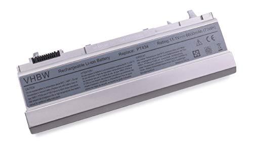 vhbw Batterie Li-Ion 6600mAh (11,1 V) pour Dell Latitude 6400 ATG, Latitude E6400, Latitude E6500, Precision M2400, Precision M4400.