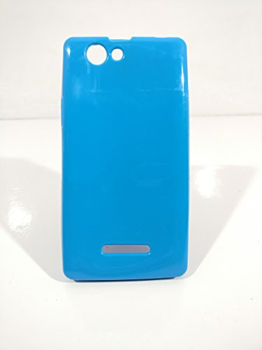 iCandy™ Colorfull Thin Soft TPU Back Cover For Xolo A500S - Turquoise  available at amazon for Rs.109