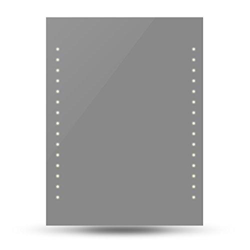 Espejo del Baño con Luces de LED en Pared 60 x 80 cm (Largo x Ancho)