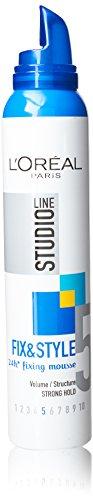 L'Oréal Studio Line Fix & Style Fixing Mousse 200ml (Pack Of 3) -
