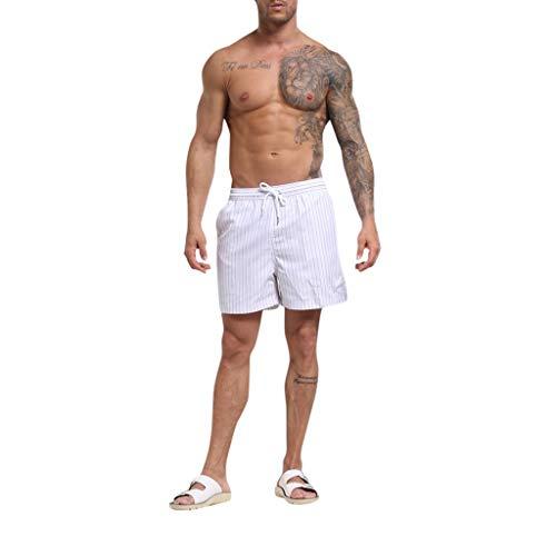 Beikoard Herren Jungen Shorts Hawaii Kurze Strandhose Fit Sporthose Schnelltrocknende Freizeitshorts Schwimmshorts Männer Quick Drying Badeshorts Boardshorts -