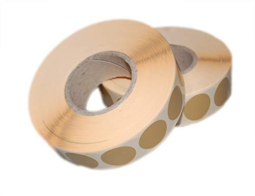 Flachberg 4000 Stück Schusspflaster für Zielscheibe 20mm (Braun IPSC Target) - Ziel Ipsc