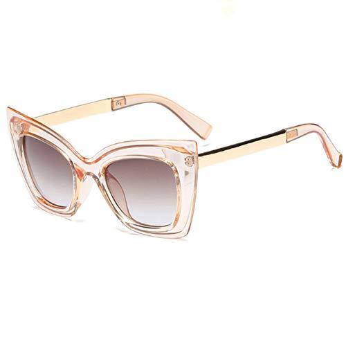 YOGER Sonnenbrillen Cat Eye Sonnenbrillen Italienische Marke Frauen Sonnenbrille Uv400