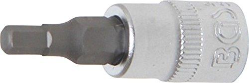 BGS 2498 Douille à embouts six pans intérieurs Argent/Gris, 4 mm