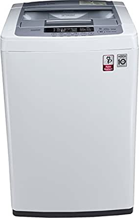 LG 6.2 kg Fully-Automatic Top Loading Washing Machine (T7269NDDL, Blue and White)
