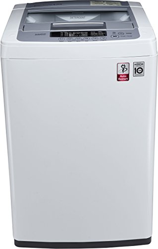 LG 6.2 kg Fully-Automatic Top Loading Washing Machine (T7269NDDL, Blue...