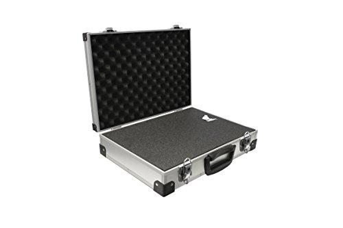 PeakTech Universal-Aluminiumkoffer, L, 370 x 230 x 80 mm, 1 Stück, P 7260