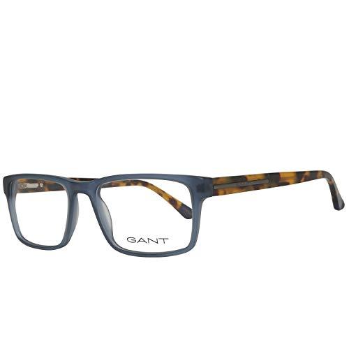 GANT  GA3154 54092 Gant Brille Ga3154 092 54 Rechteckig  Brillengestelle 54, Blau