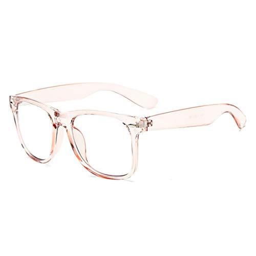 Mkulxina Bonbonfarbene antiblaue Brille für Blaulichtblocker für Männer und Frauen (Color : Pink)