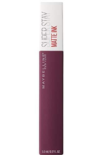 Maybelline New York Superstay Matte Ink Collezione Unnudes Rossetto, Matte, Liquido, Tinta Labbra a Lunga Tenuta, 40 Believer