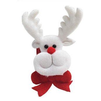 Bluelover Weihnachtsklatschen LED Licht Stirnbänder Ring Band Slap Armband Weihnachtsfeier Lustige Santa 2 (Lustig Halloween Tumblr)