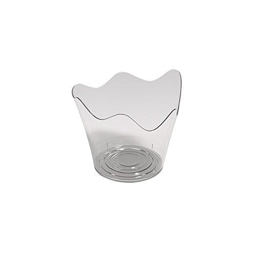 Finger Food Coupelle Rain PS 90 cc cfz 25pz transparent