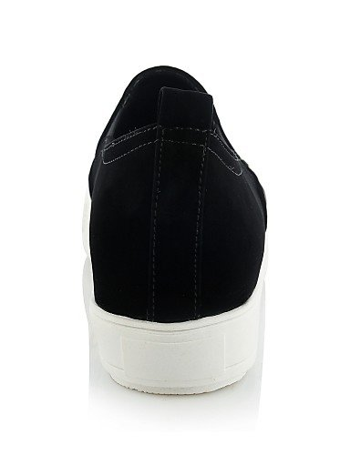 ZQ gyht Scarpe Donna-Mocassini-Casual-Punta arrotondata-Piatto-Sintetico-Nero / Bianco / Dorato , white-us8.5 / eu39 / uk6.5 / cn40 , white-us8.5 / eu39 / uk6.5 / cn40 black-us6 / eu36 / uk4 / cn36