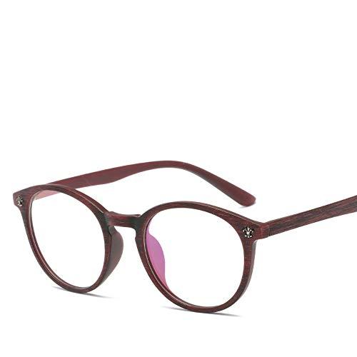 XCYQ Brillengestell Frauen Brillengestell Brillen Vintage Eyewear Spectacle Frame, E
