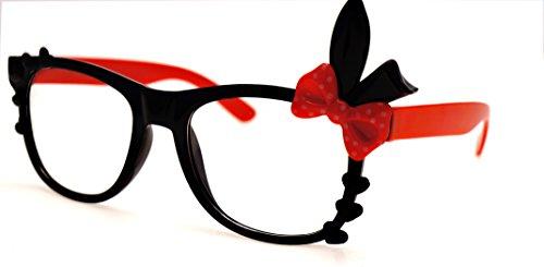 KITTY Club Brille G2-1 (Rote Schleife Brille)