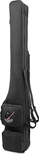 normani Rutentasche RodBox Triple Allround Rutenfutteral - 3 Fächer - Verschiedene Längen Farbe Schwarz Größe 1,50 m