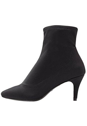 Even&Odd Botas Bajas de Mujer – Botines de Fiesta - Ankle Boots con Tacón, Negro en Talla 39
