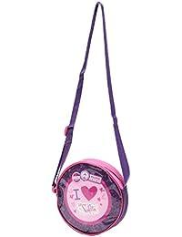 Petit sac rond à bandoulière enfant fille Disney