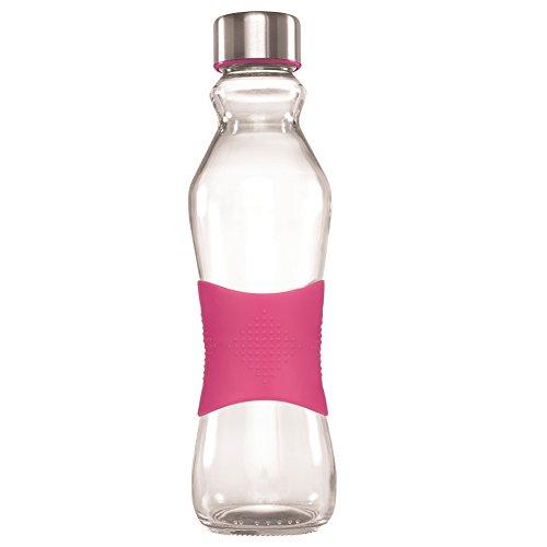 Grip-Go-Bouteille-en-verre-pour-eau-500-ml-Couvercle-en-acier-inoxydable