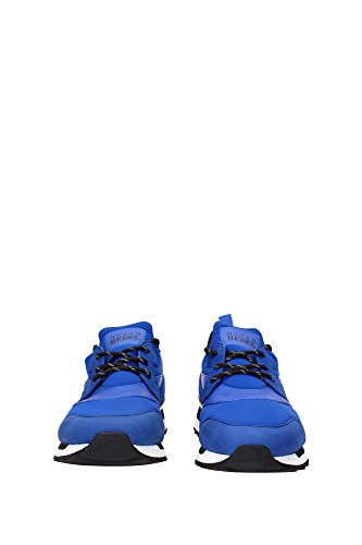 HXM2610U390CB80XAB Hogan Sneakers Uomo Tessuto Blu Blu