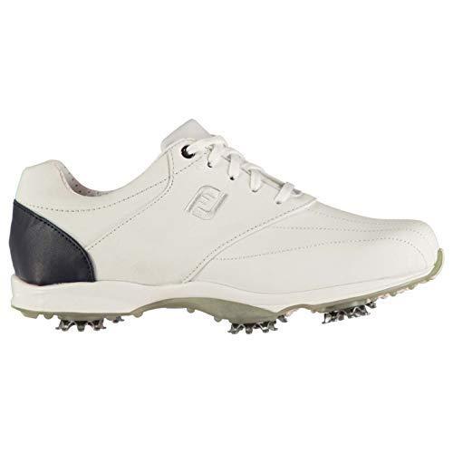 Footjoy Embody Donna Scarpe da Golf Chiodi Scarpe Sportive Calzature - Bianco, 37 EU