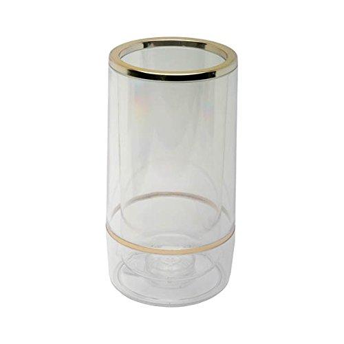 Genware nev-421Weinkühler, Acryl klar Chromrand