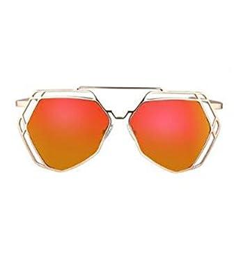 MYLL Neue Modische Damen Sonnenbrille Stern Modelle Koreanische Version Mit Großem Rahmen Und Art Und Weise Höhlen Gläser