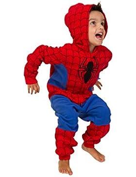 De Spiderman de Marvel pijama 3-8 años pijama infantil de neopreno para niños Spiderman disfraz de