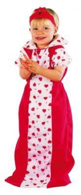 Prinzessin Herz rot Faschingskostüme für - Rote Herzen Prinzessin Kind Kostüm