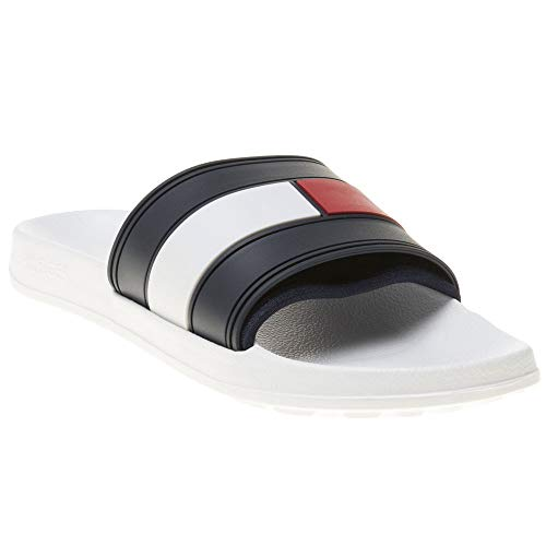 Tommy Hilfiger Flag Pool Slide, Zapatos...