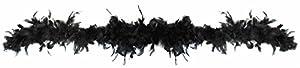 Rire et Confetti Reír y confeti - Disfraces de accesorios - - Fiefla031 Boa - 40 G - Negro