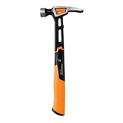 Fiskars 750200-1001 IsoCore Finishing Hammer, 16 oz by Fiskars