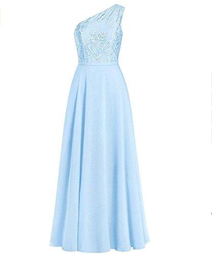 KA Beauty - Robe - Trapèze - Femme bleu glace