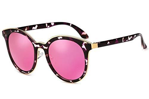LKVNHP Sommer Vintage Sonnenbrille Frauen polarisierte cat Eye Marke uv400 hd Spiegel qualitätSonnenbrille Damen Polaroid linse wpgj060 rot