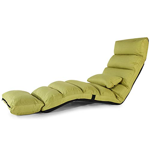 L&Y Klappsofa- Lazy Sofa, Lounger Sofa Klappstuhl, Einfache Moderne Faul Sofa, Schlafsaal Sessel,...