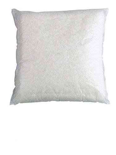 R.p. coppia imbottiture - anime - n. 2 interni cuscino arredo bianco - cm 60x60