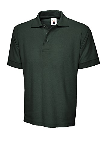 Uneek clothingDamen Poloshirt Grün - Bottle Green