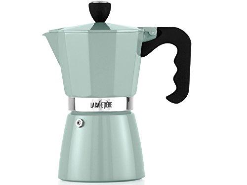La Cafetiere Pistachio 3 Cup Classic Espresso Coffee Maker Percolator