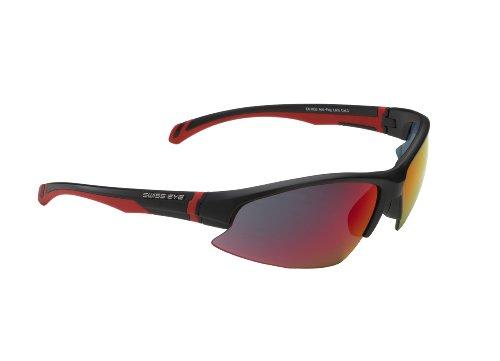 Swiss Eye Sportbrille Flash black matt, One Size