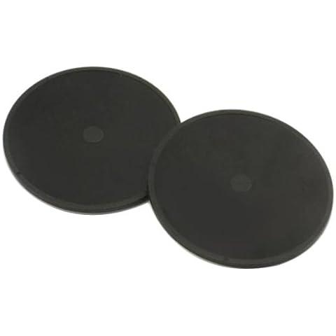 TomTom 9A00.202 - Discos adhesivos para GPS Tom Tom (2 unidades), negro