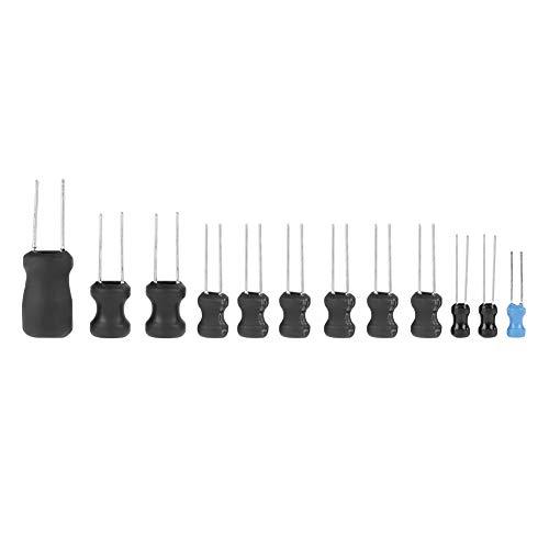 Fictory Induktionsspule - 145Pcs 10uH-10mH 12 Werte Drosselspulen Assorted Kit