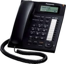 Panasonic Single Line KX-TS880MX Corded Phone (Black) image