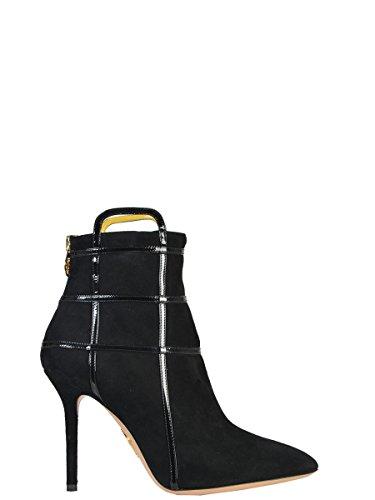 charlotte-olympia-mujer-f154394001-negro-gamuza-botines
