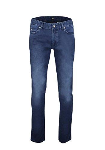 Preisvergleich Produktbild BOSS BUSINESS Slim Fit Jeans DELAWARE3 Stretch dunkelblau