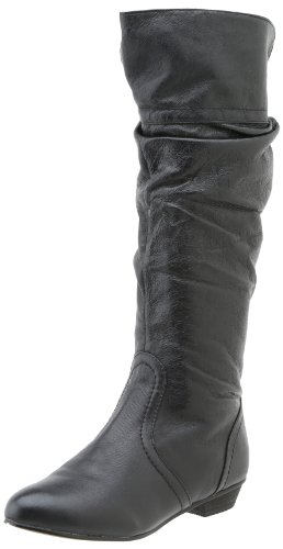 Steve Madden Candence Womens Black Leather