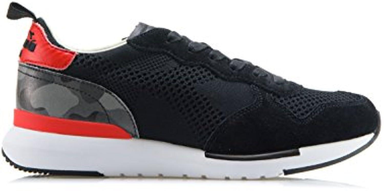 DIADORA HERITAGE Herren Damen Schuhe Sneakers Aus Textil Und Wildleder 'TRIDENT EVO LIGHT' Schwarz