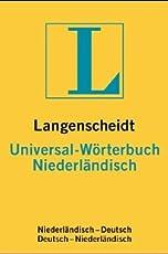 Langenscheidts Universal-Wörterbuch Niederländisch: niederländisch-deutsch, deutsch-niederländisch