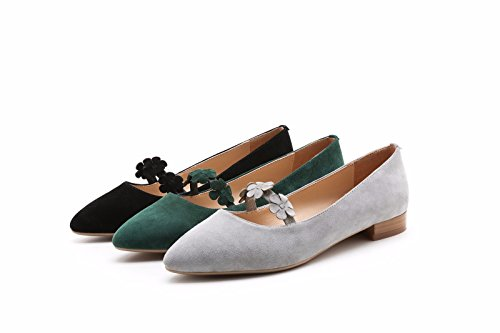 hexiajia , Chaussures à lacets femme Gris